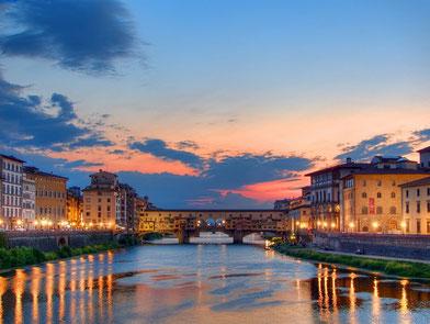 Abenstimmung in Florenz