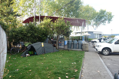 Camping station essence copec