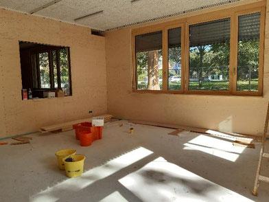 Ein neuer Werkstattraum