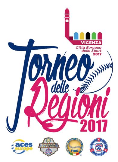 Il logo del Torneo delle Regioni disegnato da Giovanni Castagnini
