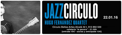 Hugo Fernandez, Jazz Quartet, Jazz Guitar, Guitarra de Jazz, Madrid