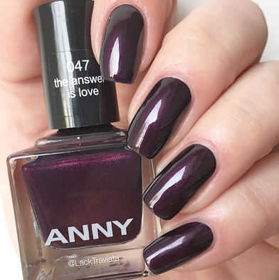 swatch ANNY the answer is love by LackTraviata