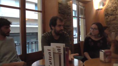 Parlant amb Víctor Borràs