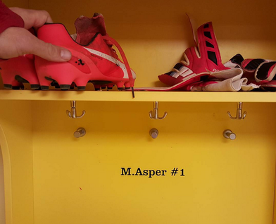 Mattias Asper, colgando definitivamente las botas. Foto: asper33.