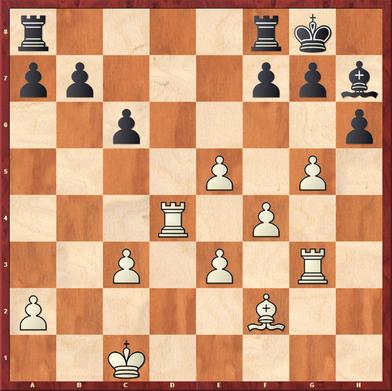 Margenberg - Pfennig, M: Nach 26. ... h5 27. Th3! ging der h-Bauer verloren, da g6 nur den schwarzen Läufer lebendig begraben würde und Lg6 and e4 nebst f5 scheitert.