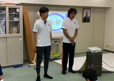 しんそう療方京都研修会に新しく入ってきた研修生。これから身体のゆがみ、形を整える勉強をしていきます