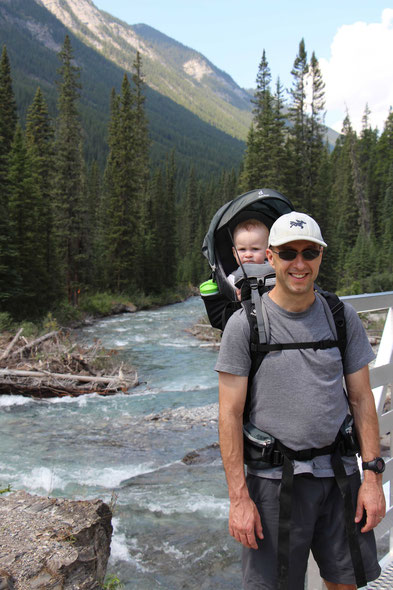 Travel with Baby Banff, Canada