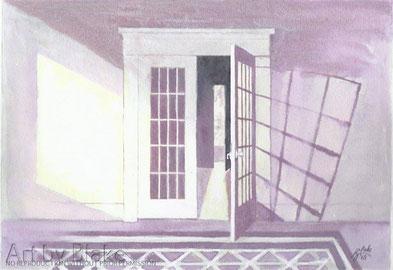 'The white door' by Blake 2012