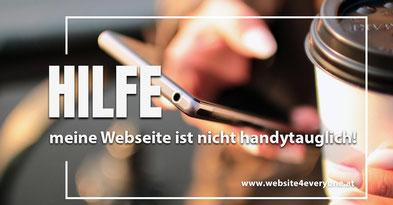handytaugliche Webseite