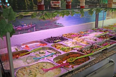 Das mediterrrane Frühstücksbuffet bei Hanimeli