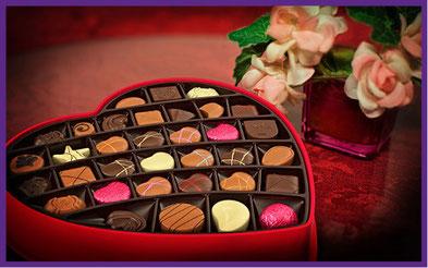 Valentinstag süßes, Valentinstag Pralinen, Schokoladen Penis,