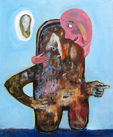 apprentice, 2015, oil on canvas, 120 x 100 cm