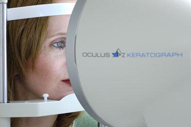 Oculus Keratograph Untersuchung