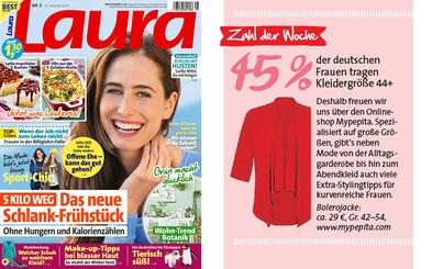 Presse Veröffentlichung, Mypepita in der Presse , Zeitung Laura