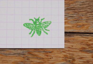 Bild Bienchen Stempel