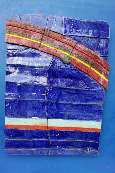 """""""Regenbogen"""", 51 cm x 68 cm"""