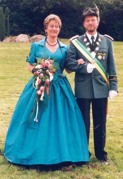 25-jähriges Jubelkönigspaar: Reinhard und Maria Meyer