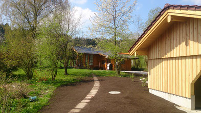Aussenanlagen mit Naturstein, Oberauer Transporte Nußdorf
