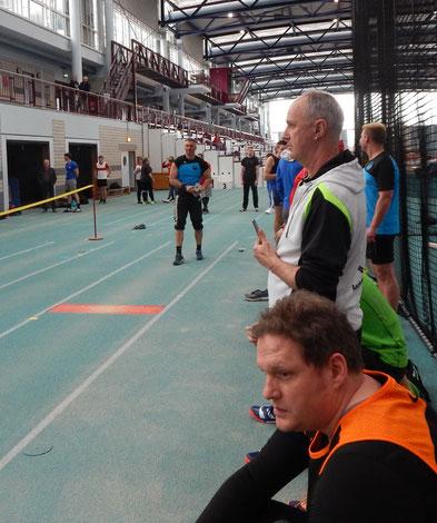 Michael Galuschka bei der Wettkampfvorbereitung!