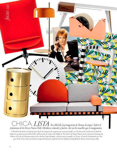 Lámpara de mesa en The Interiorlist*