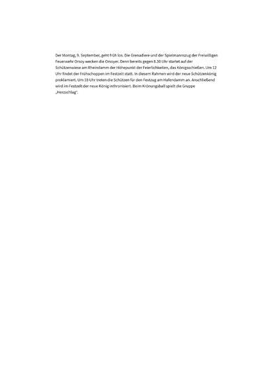 Schützenfest, BSV, Orsoy, 2019, Königinnen, Bürgerschützenverein Orsoy, Festschrift
