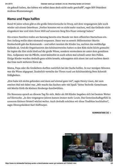 Ostereier suchen, Osterfeuer 2019, 2019, Ostern