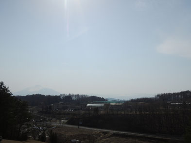 北側から見た岩手山!