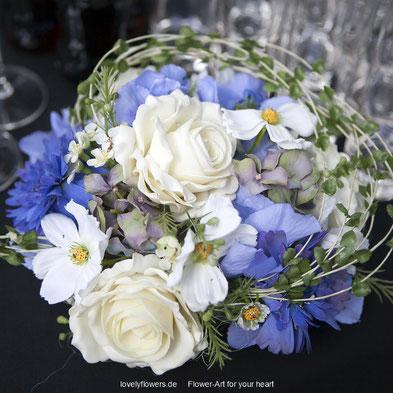 www.lovelyflowers.de - Dein Spezialist für Brautsträuße aus High Quality Seide