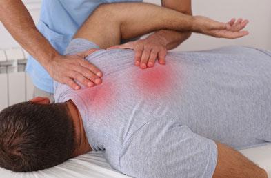 Triggerpunkttherapie Basel: Verspannungen lösen sich, eine sofortige Linderung ist zu spüren! Effektiv und nachhaltig durch erfahrene Therapeuten der Physiotherapie Santewell Basel