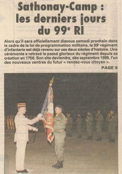 Le Progrès, mai 1997