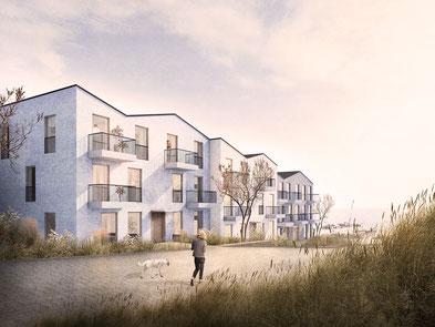 Masterplan Beckersberg - Henstedt-Ulzburg Städtebaulicher Wettbewerb Masterplan 2019 3. Preis Herr & Schnell Architekten Lysann Schmidt Landschaftsarchitektur Hamburg