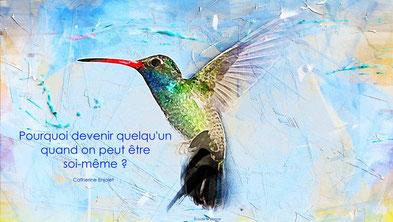 Colibri Citation Catherine Enjolet