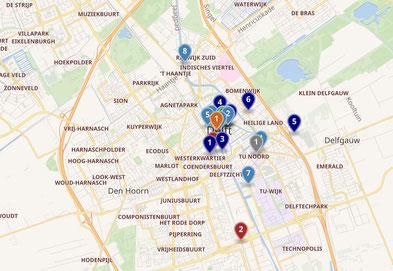Delfter Stadtplan -klick an.
