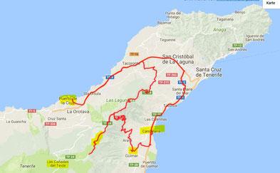 140 km Tageskilometer (u.a. TF 24)