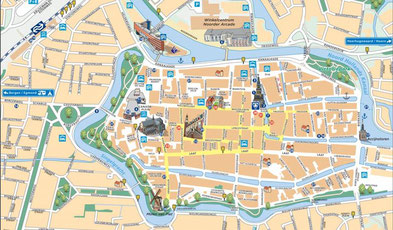 Stadtplan Alkmaar - siehe Links!