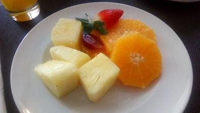 ...unser gesundes Frühstück!