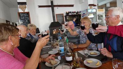 Mittagsmenu im A Cabana, Quarteira