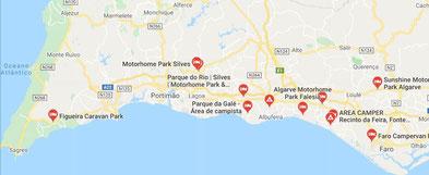 Motorhomes: Klick an für interaktive Karte!