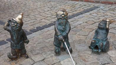 Welt der Zwerge in Breslau