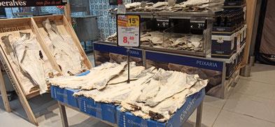 Bacalhau, gesehen bei Continente