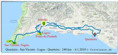 Tagestour bis Sao Vicente und zurück über Lagos