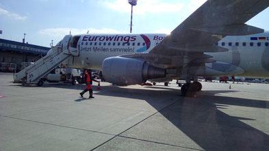90 min. Flugzeit Düsseldorf-Edinburgh A 320
