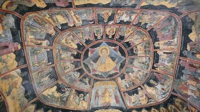 Decke außen : Kloster Sinaia (altes)
