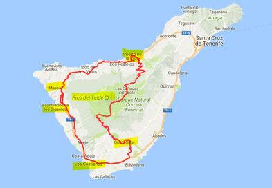 Tagestour ca. 200 km