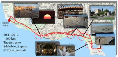 Tagestour an der Südküste Zyperns