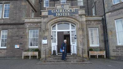 Unser Hotel in Gairloch - 2 Nächte