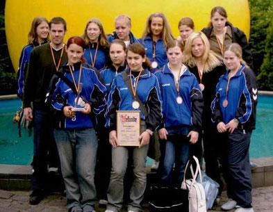 Weibliche C-Jugend wird Kreismeister