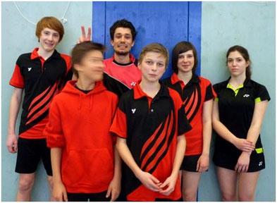 v.l.n.r.: Mark, Manuel, Oli, Jakob, Katrin, Verena