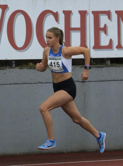400 m-Läuferin Lena Johanns