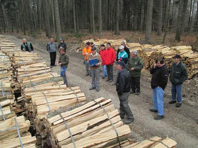 Holzsteigerung